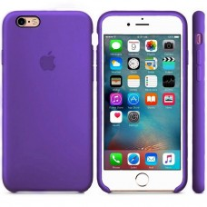 Чехол силиконовый Apple Silicone Case Violet для iPhone 6/6S Plus